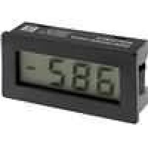 Panelové měřidlo LCD 3,5místný 10mm V DC:0-199,9mV 45x22mm