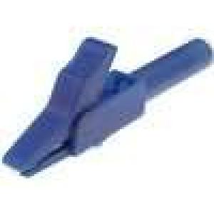 Krokosvorka 15A modrá - rozsah uchopení max 12mm délka 56mm