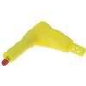Zástrčka banánek 4mm 32A   40mm niklovaný povrch