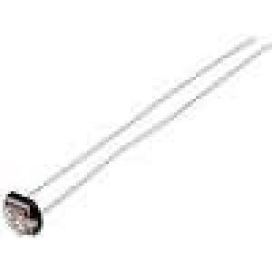 A906014 Fotorezistor 90mW 15kΩ 340kΩ 15000kΩ 600nm montáž THT 150VDC