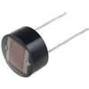 FW200 Fotorezistor 200mW 8,3kΩ 255kΩ montáž THT 200VDC
