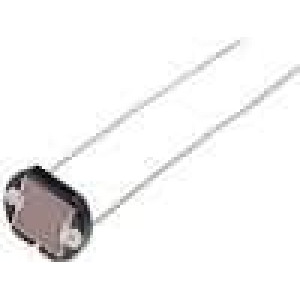 FW300 Fotorezistor 250mW 8kΩ 300kΩ montáž THT 300VDC