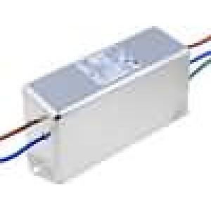 Filtr odrušovací 250VAC Iprac.max:10A s vodičem Ir:0,36mA