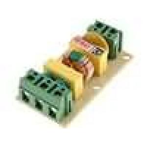 Filtr odrušovací 250VAC 1mH 100nF Iprac.max:2A -40-85°C