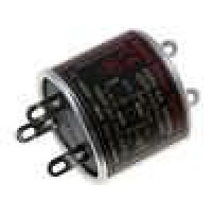 Filtr odrušovací síťový 0,5mH Cx:100nF Cy:2,2nF Iprac.max:4A