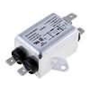 Filtr odrušovací 250VAC 10mH Cx:15nF Cy:2,2nF 1,5A -25-85°C