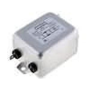 Filtr odrušovací 250VAC 0,23mH Cx:600nF Cy:4,7nF 470kΩ 40A