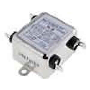 Filtr odrušovací 250VAC 0,9mH Cx:100nF Cy:3,3nF 10MΩ