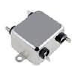 Filtr odrušovací 250VAC 0,5mH Cx:100nF Cy:3,3nF 10MΩ