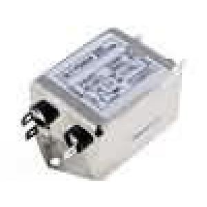 Filtr odrušovací 250VAC 3mH Cx:100nF Cy:3,3nF 10MΩ -25-85°C