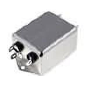 Filtr odrušovací 250VAC 0,9mH Cx:100nF Cy:3,3nF 10MΩ řada T1