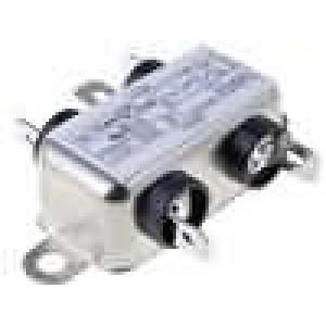 Filtr odrušovací 250VAC 3,7mH Cx:100nF Cy:3,3nF Iprac.max:1A