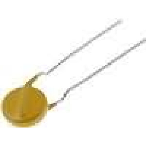 Varistor metaloxidový THT 250VAC 320VDC 390V 2,5kA 60J