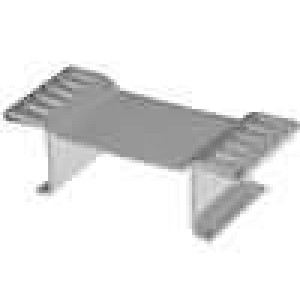 Chladič lisovaný D3PAK, TO268 L:13mm W:31mm H:10mm 19,5K/W