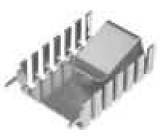 Chladič lisovaný TO218,TO247,TO248 L:32mm W:20mm H:9mm měď