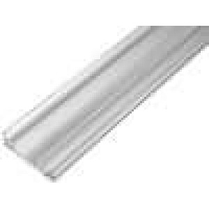 Chladič lisovaný U L:1000mm W:70mm H:19mm hliník