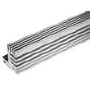 Chladič lisovaný TO220 přírodní L:1000mm W:30mm H:31mm