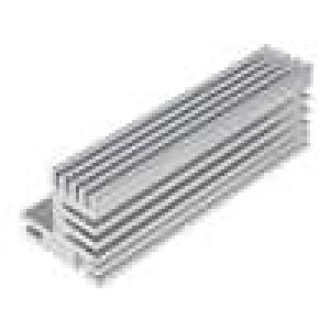 Chladič lisovaný TO220 přírodní L:84mm W:30mm H:31mm 5,5K/W