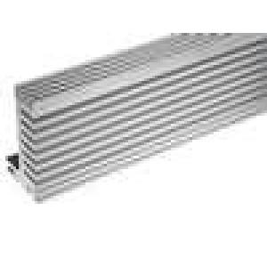 Chladič lisovaný TO220 přírodní L:1000mm W:55mm H:31mm