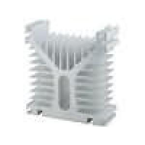 Chladič lisovaný pro jednofázová relé hliník 400A