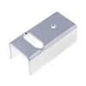 Chladič lisovaný U TO220 17K/W hliník naturální