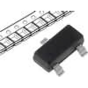 BF545C Tranzistor unipolární N-JFET 30V 25mA 250mW SOT23