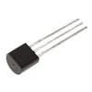 BS170 Tranzistor unipolární N-MOSFET 60V 500mA 83W TO92