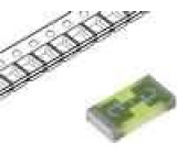 Pojistka tavná rychlá sklěněná 630mA 32VAC 63VDC SMD USI