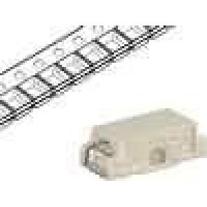 Pojistka tavná rychlá 630mA 63VAC 63VDC 7,4x3,1x2,6mm SMD