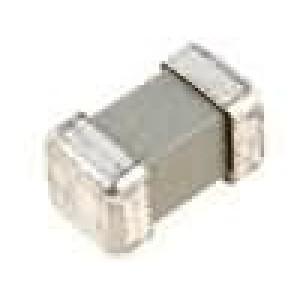 Pojistka tavná zpožděná keramická 125mA 250V 8x4,5x4,5mm SMD