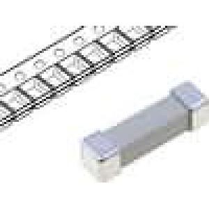 Pojistka tavná zpožděná keramická 80mA 250V 16x4,5x4,5mm SMD