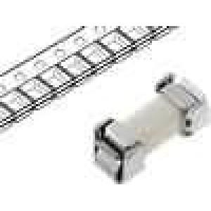 Pojistka tavná rychlá keramická 4A 125V 9,15x3,81x3,33mm SMD