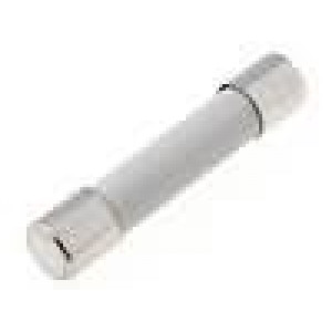 Pojistka tavná velmi rychlá keramická 1,6A 500VAC 6,3x32mm