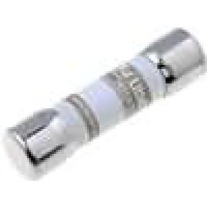 Pojistka tavná gPV keramická, průmyslová 125mA 600VAC 600VDC