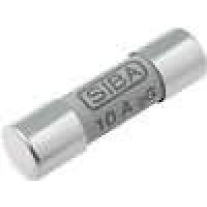 Pojistka tavná gG keramická, průmyslová 10A 500VAC 10x38mm