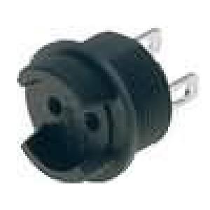 Pouzdro miniaturní pojistky TE5,TR5 6,3A 250V -40-85°C