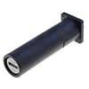 Pouzdro trubičkové pojistky do PCB 6,3x32mm -40-85°C 16A