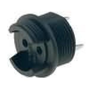Pouzdro miniaturní pojistky do PCB TE5,TR5 6,3A 250V