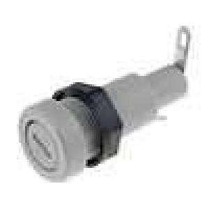 Pouzdro trubičkové pojistky 5x20mm 10A 250V do panelu