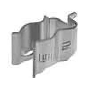 Montážní držáky trubičkové pojistky do PCB 10x38mm 20A