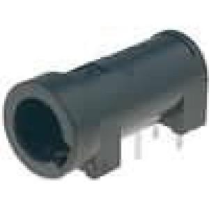 Pouzdro trubičkové pojistky do PCB 5x20mm -25-70°C 16A