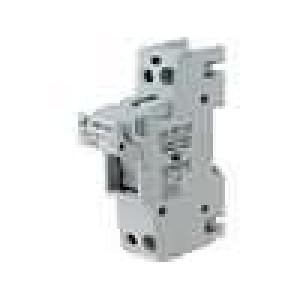Pouzdro trubičkové pojistky 14x51mm na DIN lištu 50A 690V