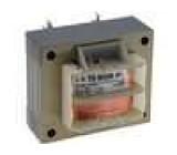 Transformátor síťový 8VA 230VAC 12V 0,67A Montáž šroubkem