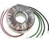 Transformátor toroidní 100VA 230VAC 12V 24V 4,16A 2,08A IP00