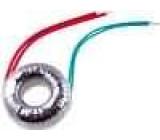 Transformátor toroidní 20VA 230VAC 8V 2,5A 0,4kg s vodičem