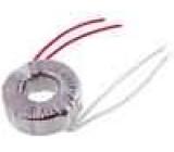 Transformátor toroidní 50VA 230VAC 24V 2,08A 0,7kg Ø:85mm