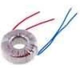 Transformátor toroidní 60VA 230VAC 24V 2,5A 0,8kg s vodičem