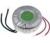 Transformátor toroidní 100VA 230VAC 19V 5,26A 1,1kg Ø:92mm