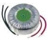 Transformátor toroidní 150VA 230VAC 24V 24V 3,12A 3,12A IP00