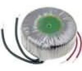 Transformátor toroidní 50VA 230VAC 19V 2,63A 0,7kg Ø:78mm